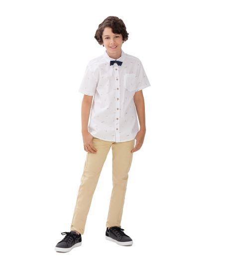 Camisa-manga-corta-Ropa-nino-Blanco