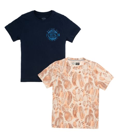 Set-camisetas-Ropa-nino-Amarillo