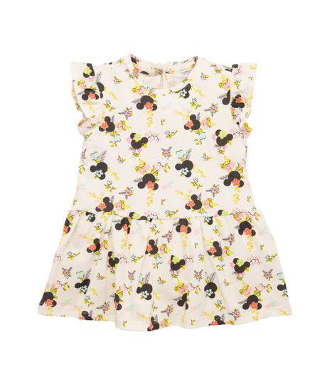 Vestido-manga-sisa-Ropa-recien-nacido-nina-Amarillo