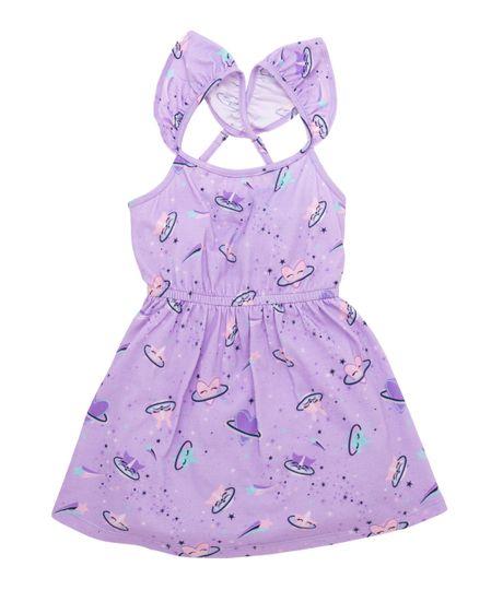 Vestido-manga-sisa-Ropa-bebe-nina-Morado