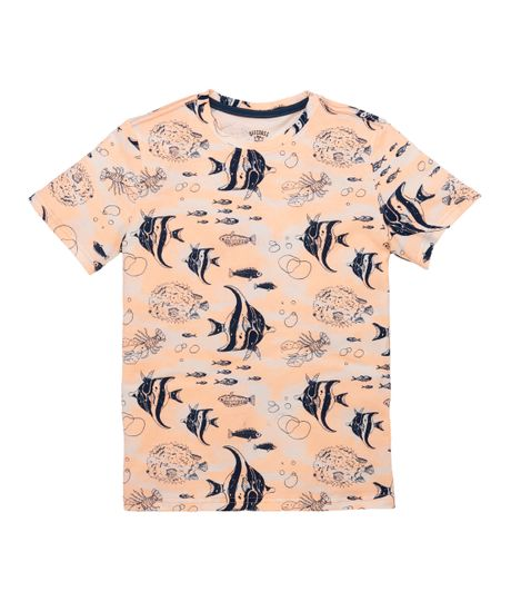 Camiseta-manga-corta-Venta-Directa-Naranja