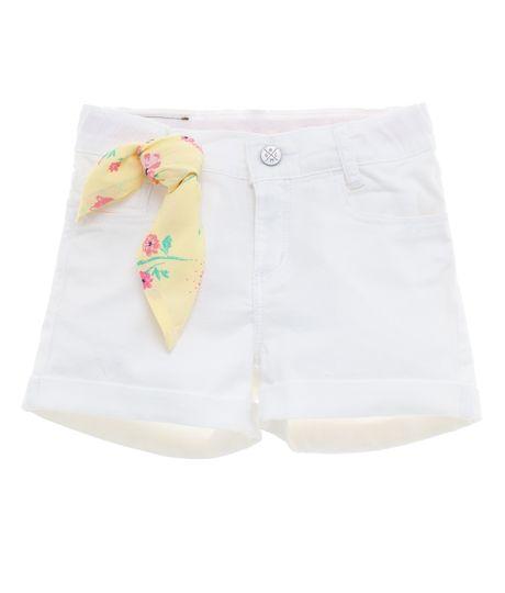 Short-Ropa-bebe-nina-Blanco