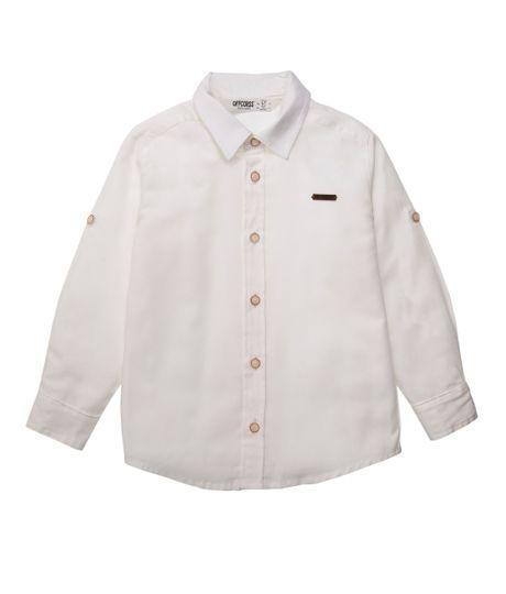 Camisa-manga-larga-Ropa-bebe-nino-Blanco