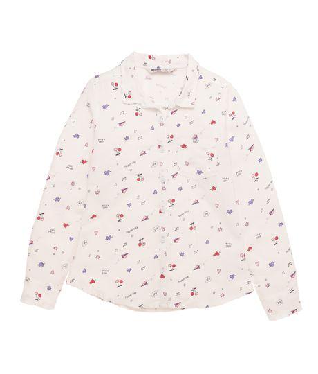 Camisa-manga-larga-Ropa-nina-Blanco