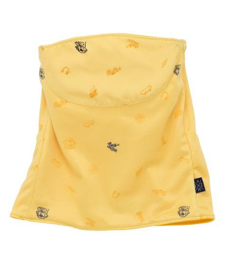 Cuello-protector--Ropa-bebe-nino-Amarillo