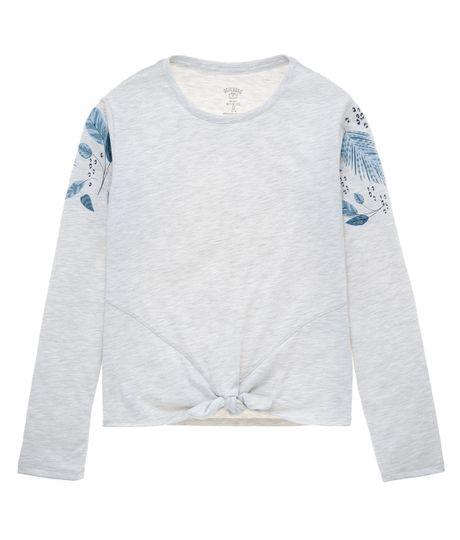Camiseta-manga-larga-Ropa-nina-Gris