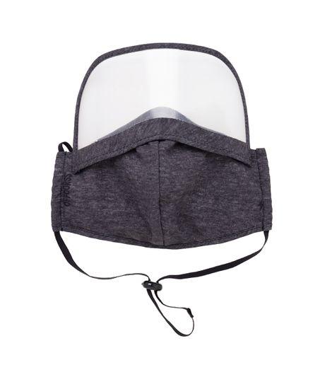 Tapabocas-con-visor-para-adultos-Ropa-nino-Gris
