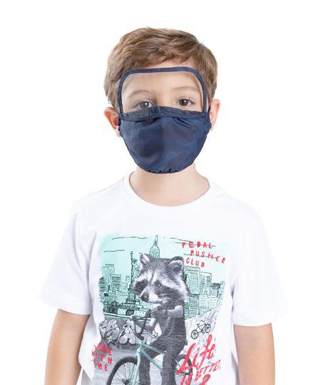 Tapabocas-con-visor-para-niños-Ropa-bebe-nino-Azul