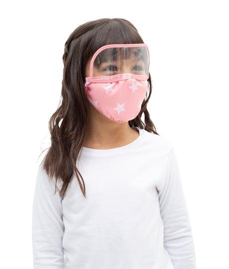 Tapabocas-con-visor-para-niñas-Ropa-bebe-nina-Rosado