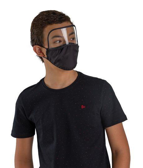 Tapabocas-con-visor-para-niños-Ropa-nino-Negro