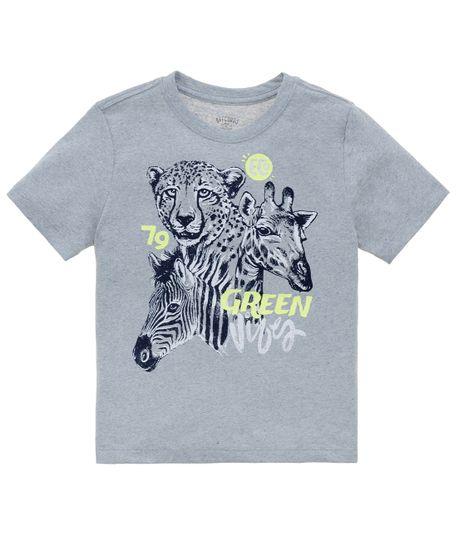 camiseta-manga-corta-ecologica-Ropa-bebe-nino-Azul