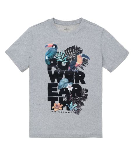 camiseta-manga-corta-ecologica-Ropa-nino-Gris