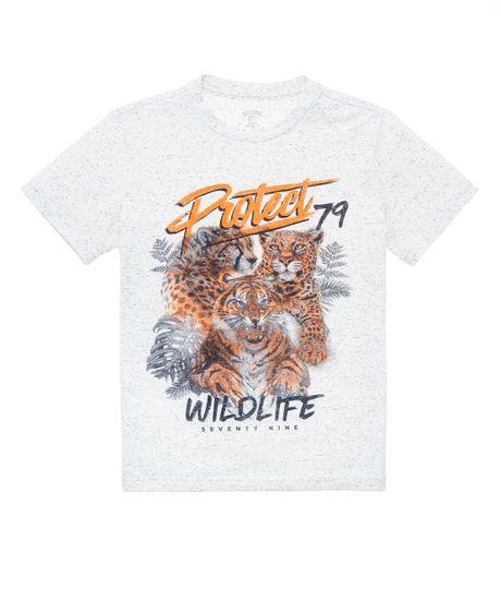 camiseta-manga-corta-ecologica-Ropa-nino-Blanco