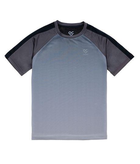 Camiseta-manga-corta-deportiva-Ropa-nino-Gris
