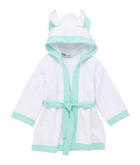 Kimono-toalla-Ropa-recien-nacido-nino-Verde