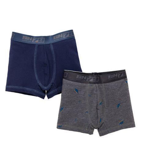 Set-x2-boxer-Ropa-bebe-nino-Azul