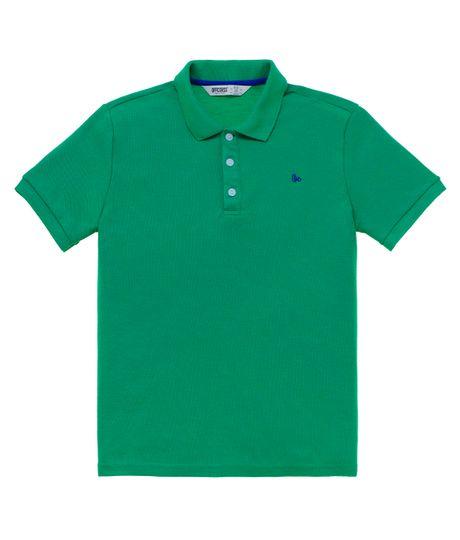 Camiseta-tipo-polo-Ropa-nino-Verde