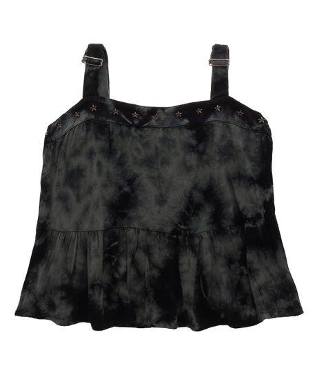 Camisa-manga-sisa-Ropa-nina-Negro