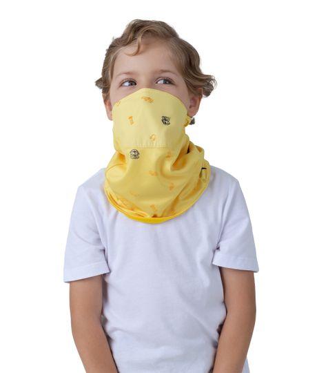 Cuello-de-proteccion-Ropa-bebe-nino-Amarillo