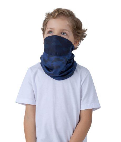 Cuello-de-proteccion-Ropa-bebe-nino-Azul