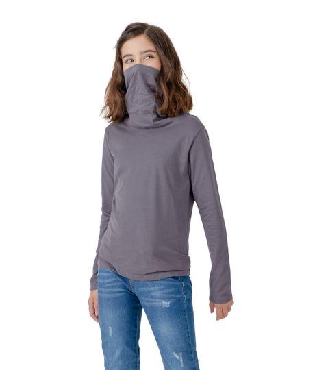 Camiseta-manga-larga-de-proteccion-Ropa-nina-Gris