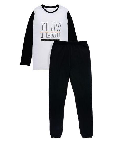 Pijama-Ropa-nino-Negro