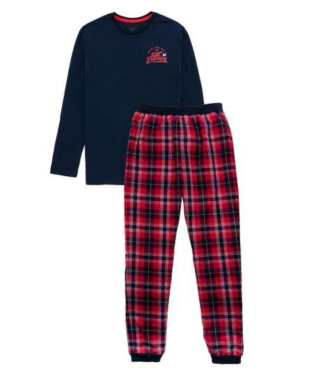 Pijama-Ropa-nino-Azul