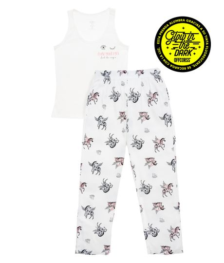 Pijama-Ropa-nina-Blanco