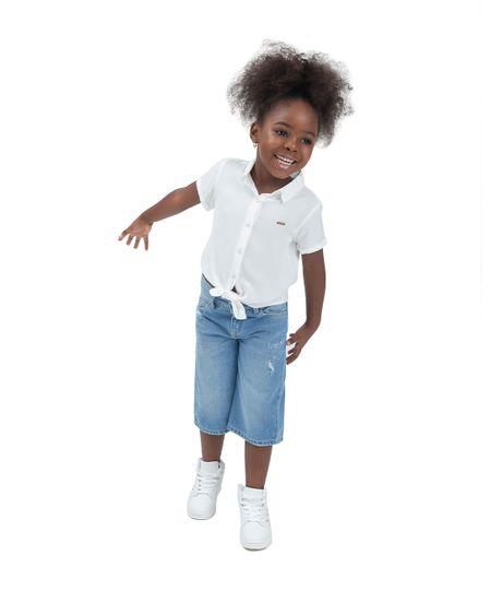 Jean-tipo-culotte-Ropa-bebe-nina-Indigo-claro