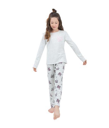 Pijama-Ropa-nina-Gris