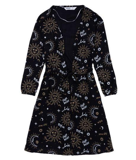 Kimono-Ropa-nina-Negro