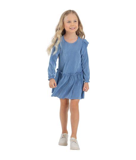 Vestido-manga-larga-Ropa-bebe-nina-Morado