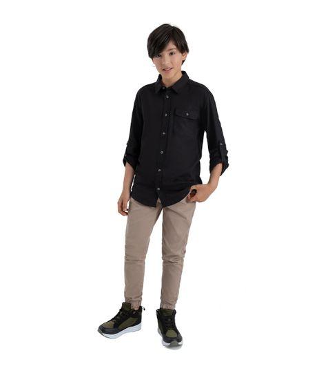 Camisa-manga-larga-Ropa-nino-Negro