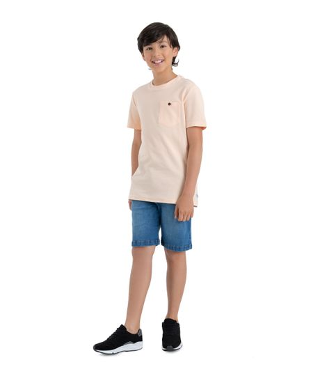 Camiseta-manga-corta-Ropa-nino-Rosado