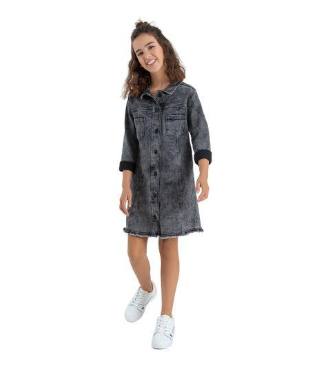 Vestido-manga-larga-Ropa-nina-Indigo-oscuro