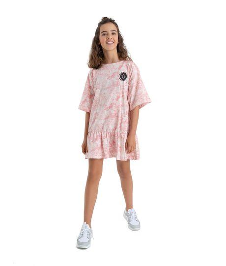 Vestido-manga-corta-Ropa-nina-Blanco