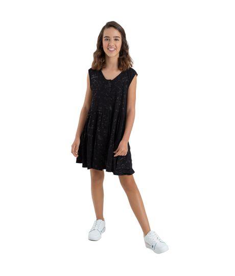 Vestido-manga-sisa-Ropa-nina-Negro