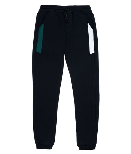 Pantalon-de-sudadera-Ropa-nino-Negro