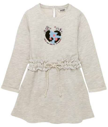 Vestido-manga-larga-Ropa-bebe-nina-Gris