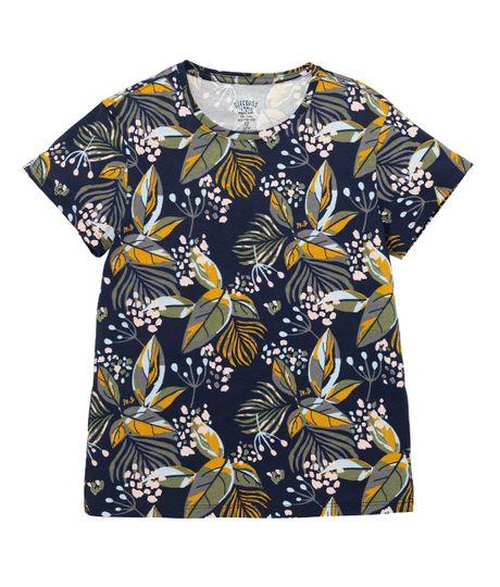 Camiseta-manga-corta-Ropa-nina-Azul