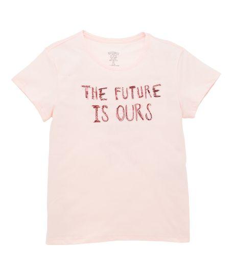 Camiseta-manga-corta-Ropa-nina-Rosado