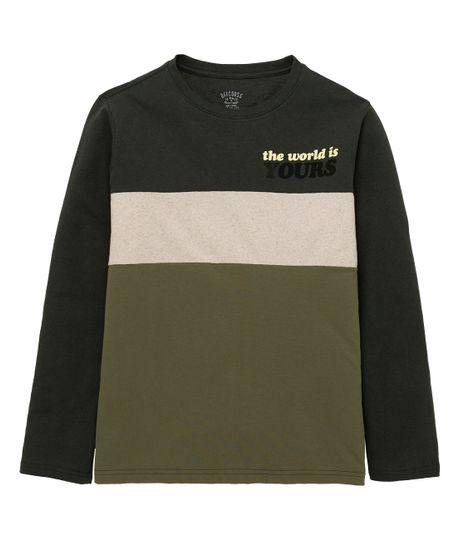Camiseta-manga-larga-ecologica-Ropa-nino-Verde