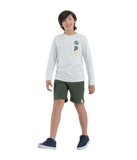 Camiseta-manga-larga-ecologica-Ropa-nino-Blanco