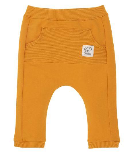 Pantalon-de-sudadera-Ropa-recien-nacido-nino-Amarillo