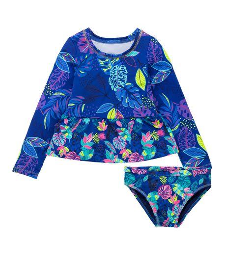 Vestido-de-baño-tankini-Ropa-bebe-nina-Morado
