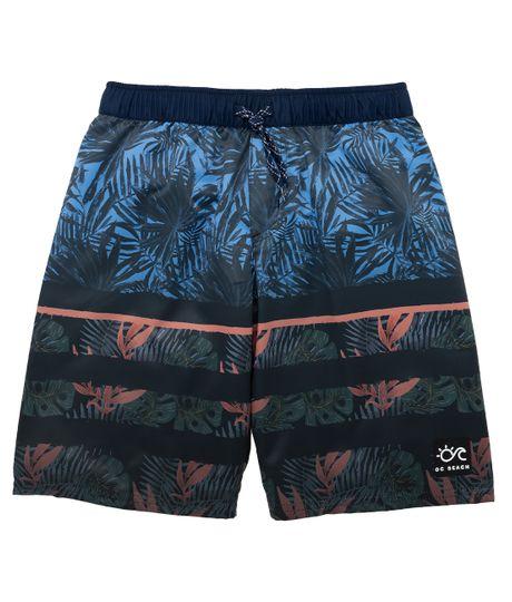 Pantaloneta-de-playa-Ropa-nino-Azul