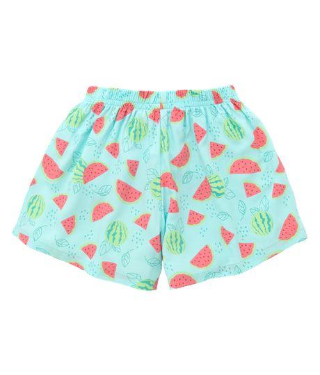 Short-de-pijama-Ropa-nina-Verde