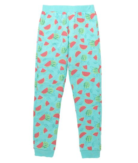 Pantalon-de-pijama-Ropa-nina-Verde