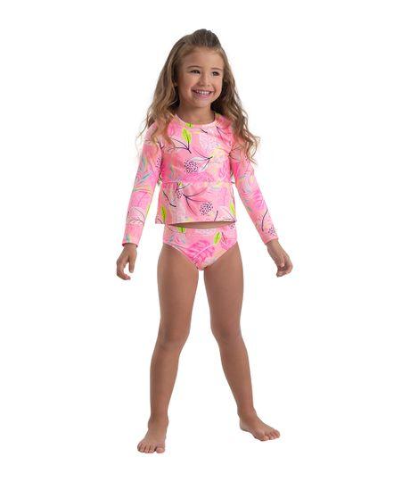 Vestido-de-baño-tankini-Ropa-bebe-nina-Rosado