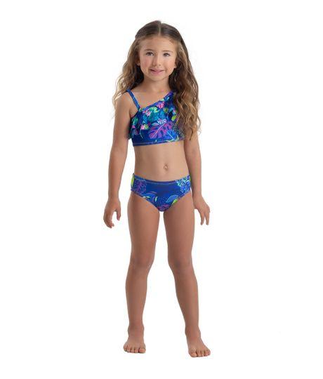 Vestido-de-baño-bikini-Ropa-bebe-nina-Morado
